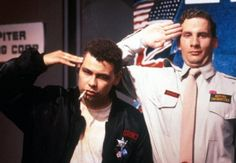 Lister and Rimmer - Red Dwarf