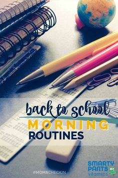 Back to school morning routines that WORK! We're giving some of our best morning routines to help your busy mornings run much smoother!