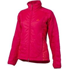 adidas OUTDOOR Terrex Swift Primaloft Jacket - Women's by adidas. $124.95. CLIMAPROOF WIND Provides protection in windy and light rain conditions. PRIMALOFT SPORT 100g / m2 insulation.Warmest synthetic insulation material, warm even when wet. Extremely compressible. FORMOTION Ultimate performance and comfort while in motion. INNER SLEEVE CUFFS