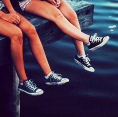 All star legs by the water. Picture Taken by Instagram user Mattiastyllander