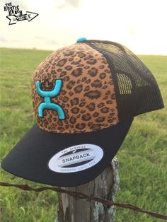 """HOOey """"Cheetah"""" Mesh Back Hat - The Rustic Ranch Boutique"""