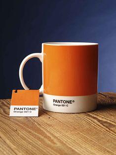 mug Pantone Orange 021 C
