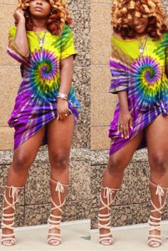 US$ 14.49 US$ 20.70 Yellow Fashion, Colorful Fashion, Silver Wigs, Camouflage Fashion, Red Two Piece, Curvy Girl Fashion, Yellow Dress, Pattern Fashion, Cap Sleeves