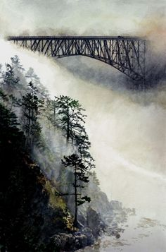 Deception Pass, Whidbey Island, WA many times for decades, an unbelievable place, stunning from any angle.