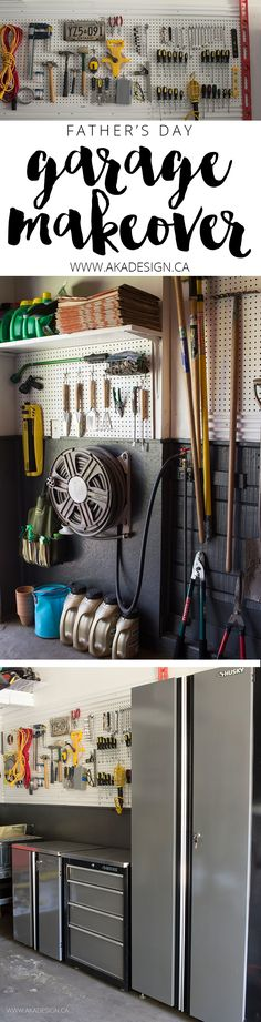 Father's Day Garage Makeover