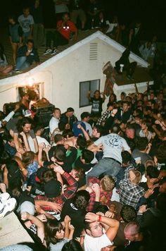 Go to a crazy party