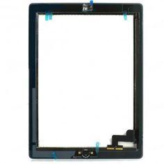iPad 2 Digitizer Touchscreen Full Assembly ( Grade A )  Kit Includes: •1 iPad 2 Digitizer Touchscreen Full Assembly ( Grade A ) •1 iPad 2 Home button + Flex •1 iPad Adhesive