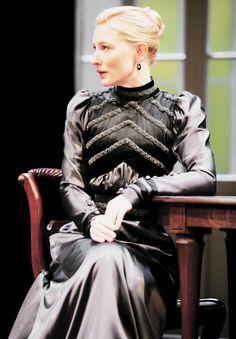 Cate Blanchett  #Hedda Gabler