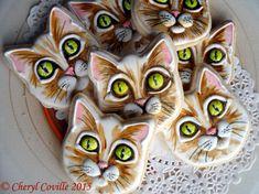 Cats | Cookie Connection https://cookiecutter.com/cat-face-cookie-cutter.htm