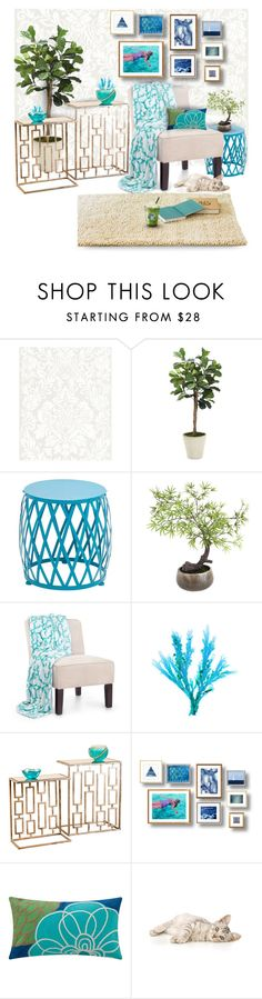 """Untitled #692"" by noralyn ❤ liked on Polyvore featuring interior, interiors, interior design, home, home decor, interior decorating, Distinctive Designs, Benzara, Sia and homedesign"