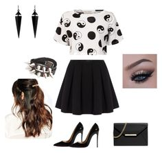 """Untitled #2"" by ivy-army ❤ liked on Polyvore featuring Être Cécile, Polo Ralph Lauren, MICHAEL Michael Kors, Oasis, Christian Louboutin and Suzywan DELUXE"