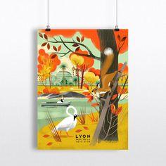 Image of Lyon Lyon, Ondine, Illustrations, Paper Dolls, Curtains, Shower, Princesses, Art, Image