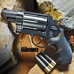 """Smith & Wesson Corp. released a 3-caliber revolver, the Governor. Editor Sammy Reese explores the concept of a revolver being """"tactical"""" in this Special Edition Feature within the pages of American Handgunner. Find out about his experience. Click here: http://fmgpubs.com/store/products/lucky-13-american-handgunner/"""