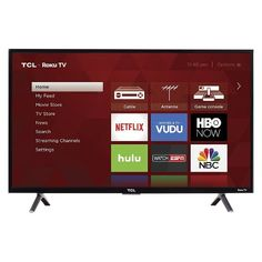 The S-Series TCL Roku TV puts all your entertainment favorites in one place, allowing seamless access to over 450,000 movies and TV episodes, your cable box, gaming console, and other devices—all from your simple, intuitive interface. The super-simple remote and dual-band wireless make it fast and easy to access your favorite content in high definition. Connect all your favorite devices with the three HDMI inputs or cast content from your smartphone or tablet with the free mobile ap...
