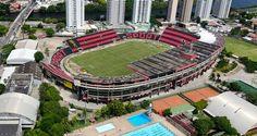 Estádio Adelmar da Costa Carvalho (Ilha do Retiro) - Recife (PE) - Capacidade: 33 mil - Clube: Sport Recife