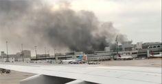 Cierran garaje del aeropuerto de Miami por auto en llamas (VIDEO) #Internacionales #aeropuerto #auto #llamas #miami