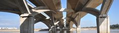 The Hassan II Bridge… linking Rabat with its commuter suburb | Lafarge - Cement, concrete and aggregates