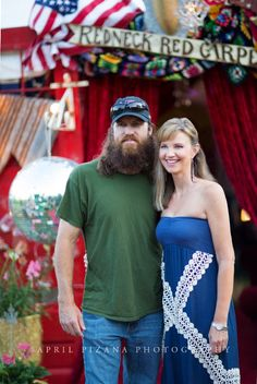 JASE ROBertson & MISSY from DUCK dynasty at the REDNECK REDCARPET for sadie! {junk gypsy co}