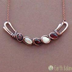 Картинки по запросу Trumpet Vine Pendant, Door 44 Original, Copper Wire Wrapped Pendant #wirejewelry