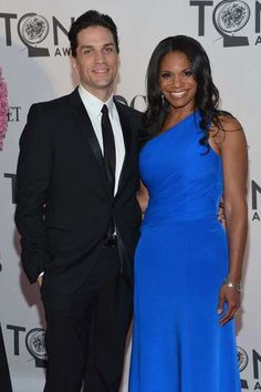 """Will Swenson and Audra McDonald of """"The Gershwins' Porgy and Bess"""" at the 2012 Tony Awards"""
