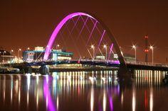 Squinty bridge, Glasgow.