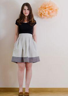 Chardon skirt (available at The Sewcial Lounge, 1809 Monroe Street, Madison WI 5371)