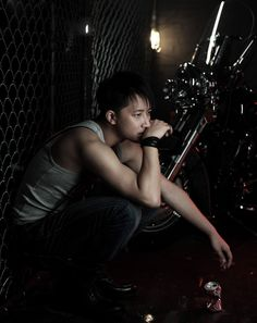 Even though I found out about Super Junior after he was already gone, I still appreciate his awesomeness. Go Han Geng!