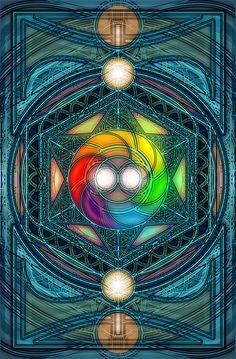 Reconciliation Mandala by Luke Orsborne