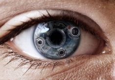 Contact Lenses that are wired into the stations database. These lenses use facial recognition to automatically identify registered citizens. Their name, DOD, Occupation, and marital status. It alerts you to braking news, and shows you how to get to your destination.