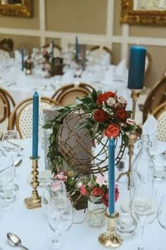 dmp-436 web Travel Themes, Wedding Table, Table Settings, Table Decorations, Create, Garden, Flowers, Inspiration, Home Decor