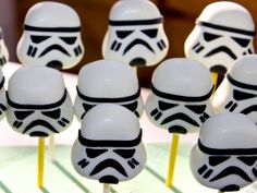 Star Wars Storm Troopers cake balls