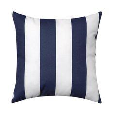 Items similar to Outdoor Nautical Stripe Throw Pillow, Dark Blue Throw Pillow, Navy Outdoor Cushion, Navy Blue White Stripe, Navy Stripe Pillow on Etsy Outdoor Pillow Covers, Outdoor Cushions, Outdoor Fabric, Indoor Outdoor, Outdoor Living, Outdoor Decor, Navy Blue Pillows, Blue Throw Pillows, Blue Throws