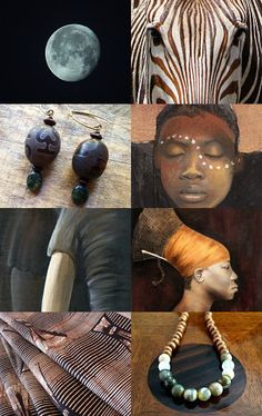 african textures :: treasury made by BelleAccessoires.etsy.com :: #africa…