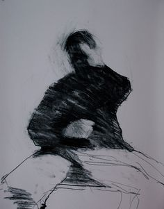 charcoal on paper.Mark Horst expressive and free Figure Painting, Figure Drawing, Painting & Drawing, Life Drawing, Drawing Sketches, Art Drawings, Gravure, Art Plastique, Figurative Art