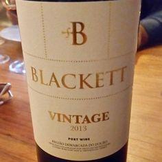 Blackett Vintage 2013