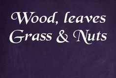 All kinds of ideas, info, tutorials, tips, tricks, and advice on what you can make from wood, leaves grasses etc.