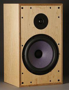 Risultati immagini per plywood speaker designs Wooden Speakers, Hifi Speakers, Monitor Speakers, Plywood Design, Speaker Design, Loudspeaker, Audio System, Box, Fasteners
