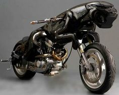Great Job Aaron: Jaguar Motorcycle greatjobaaron.blogspot.com Designer, Lee J Rowland makes some really extraordinary products and I reckon this one is definitey one of his best efforts. The Jaguar Bike. The bike runs on a 1200cc Buell 97