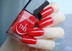 TNS Cosmetics: Rosso Dania - SilviaLaceNails