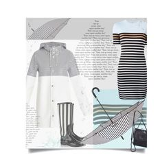 """April Showers ~ Contest"" by tiffanysblues ❤ liked on Polyvore featuring T By Alexander Wang, Henri Bendel, Stutterheim, Dolce&Gabbana and Derek Alexander"