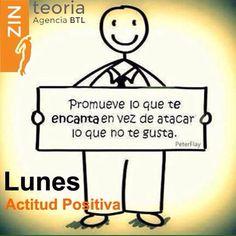 Inicio de semana #Lunes ~ #ActitudZinteoria  (33) 3826 3381 ✉️ e.olmos@zinteoria.com