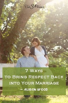 How can we as wives make an honest and deliberate effort to respect our husbands --- every single day? Here are some relevant, everyday tips that you can start using today to bring respect back into your marriage. 7 Ways to Bring Respect Back into Your Ma