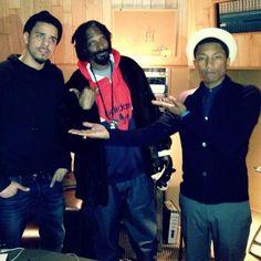 Pherell, Snoop Dog (A.k.a Snoop Lion), J.Cole- The Ol' School, New School, & Terminally Current