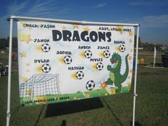 Soccer Banner - Too cute!