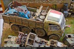 Scrapyard 1/35 Scale Model Diorama