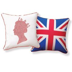 Naked Decor Queen Diamond Jubilee Pillow - queen-diamond