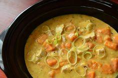 Slow Cooker Chicken Sweet Potato Chowder