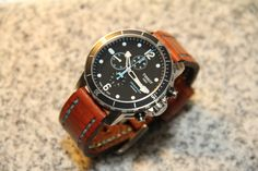 FS: Tissot Seastar 1000 Chronograph - w/ bracelet, rubber, and leather. (Reduced)