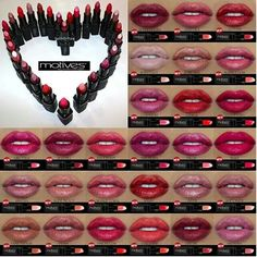 Gorgeous #Lips with #motives  #makeup #mua #redlips
