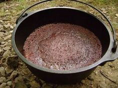 Dutch Oven Brownies. Great for camping. Dutch oven recipe. Uses charcoal easy instructions to follow!
